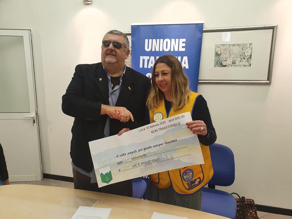 Contributo Lions Club Antiche Valli Lucchesi