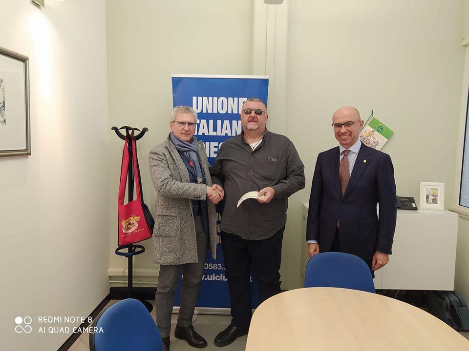 Contributo Rotary Club Montecarlo Piana di Lucca
