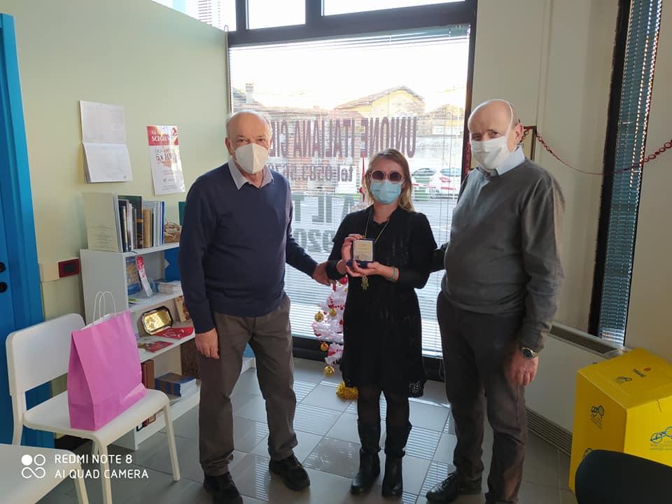 Consegna Medaglia del centenario Oculistica Lucca