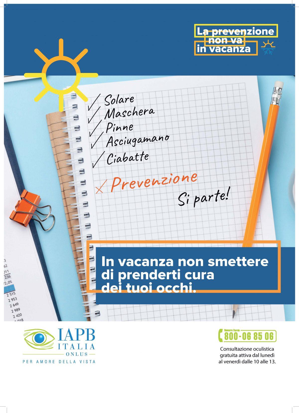 La prevenzione non va in vacanza: visite oculistiche e uscite in catamarano gratis per tutti !!!